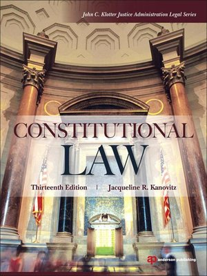 cover image of Constitutional Law