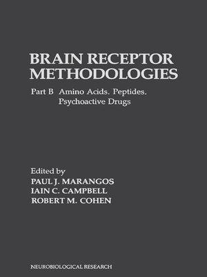 cover image of Brain Receptor Methodologies