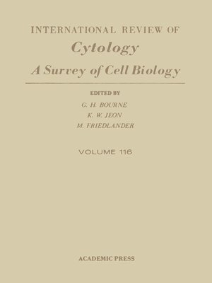 cover image of International Review of Cytology, Volume 116