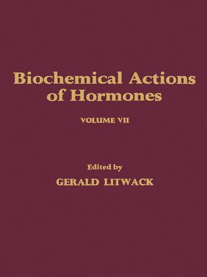 cover image of Biochemical Actions of Hormones, Volume 7