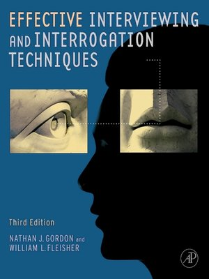 cover image of Effective Interviewing and Interrogation Techniques