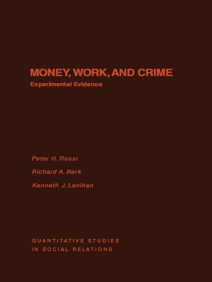 cover image of Money, Work, and Crime