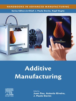 cover image of Additive Manufacturing