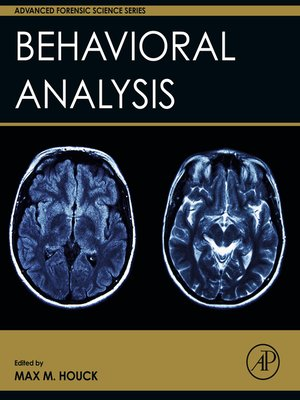 cover image of Behavioral Analysis