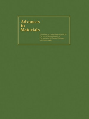 cover image of Advances in Materials