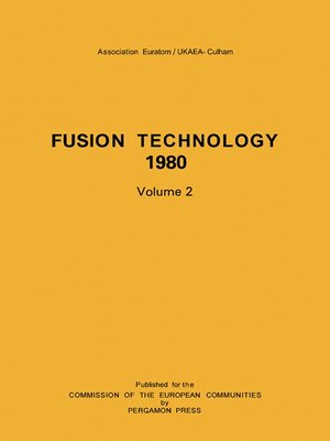 cover image of Fusion Technology 1980