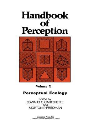 cover image of Perceptual Ecology