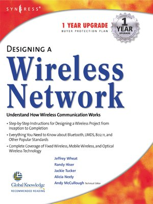cover image of Designing a Wireless Network