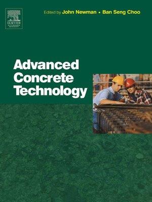 cover image of Advanced Concrete Technology Set