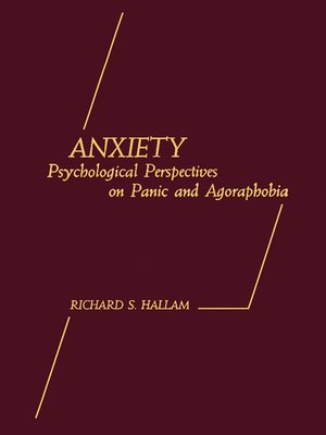cover image of Anxiety