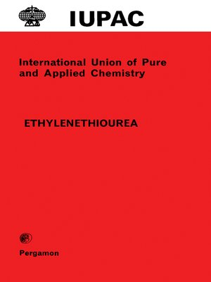cover image of Ethylenethiourea