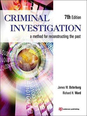 cover image of Criminal Investigation