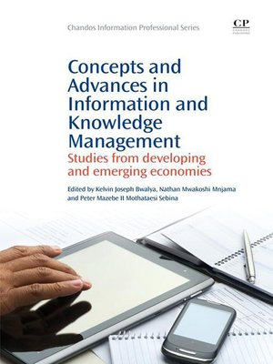cover image of Concepts and Advances in Information Knowledge Management