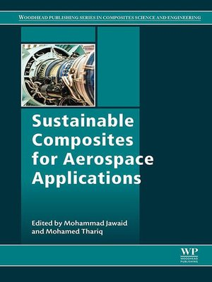 cover image of Sustainable Composites for Aerospace Applications