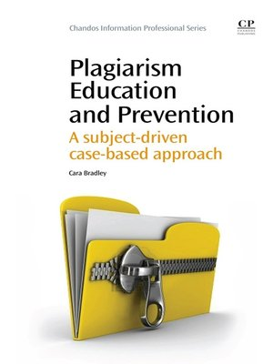 cover image of Plagiarism Education and Prevention