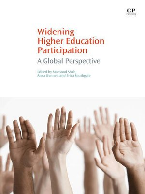 cover image of Widening Higher Education Participation
