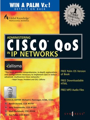 cover image of Administering Cisco QoS in IP Networks