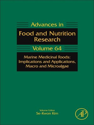 cover image of Marine Medicinal Foods