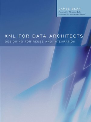 cover image of XML for Data Architects