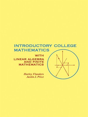 cover image of Introductory College Mathematics