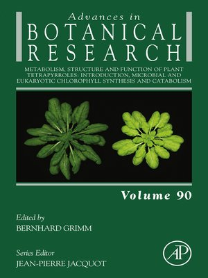 cover image of Metabolism, Structure and Function of Plant Tetrapyrroles