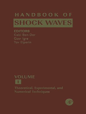 cover image of Handbook of Shock Waves, Volumes 1-3