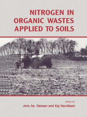 cover image of Nitrogen in Organic Wastes