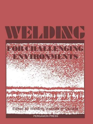 cover image of Welding for Challenging Environments
