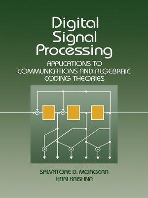 Digital Signal Processing By Salvatore Morgera Overdrive Rakuten