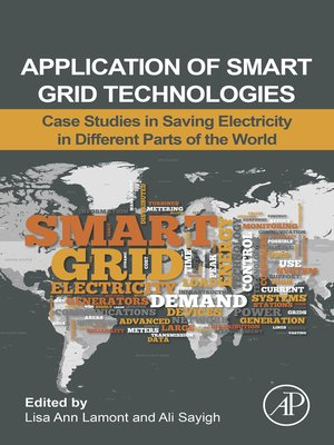 cover image of Application of Smart Grid Technologies