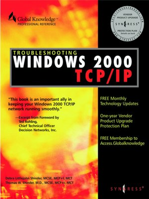 cover image of Troubleshooting Windows 2000 TCP/IP