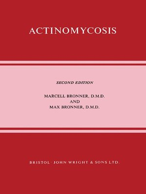 cover image of Actinomycosis