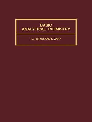 cover image of Basic Analytical Chemistry