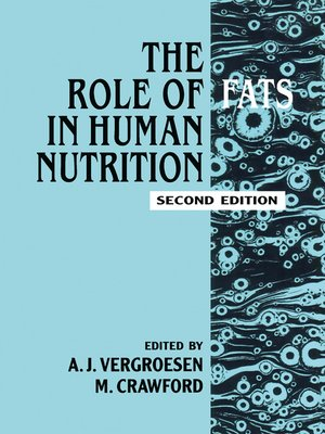 cover image of Role of Fats in Human Nutrition