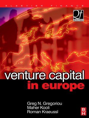 cover image of Venture Capital in Europe