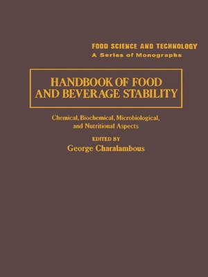 cover image of Handbook of Food and Beverage Stability