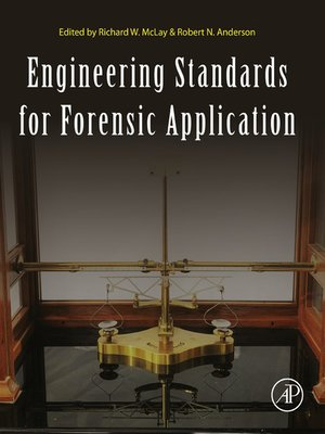 cover image of Engineering Standards for Forensic Application