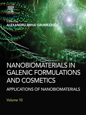 cover image of Nanobiomaterials in Galenic Formulations and Cosmetics