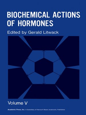 cover image of Biochemical Actions of Hormones, Volume 5