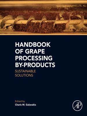 cover image of Handbook of Grape Processing By-Products