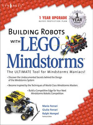 cover image of Building Robots With Lego Mindstorms