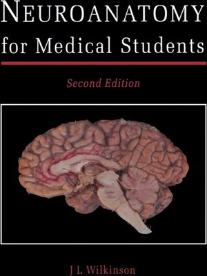cover image of Neuroanatomy for Medical Students
