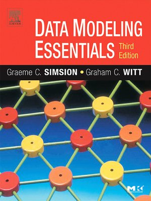 cover image of Data Modeling Essentials