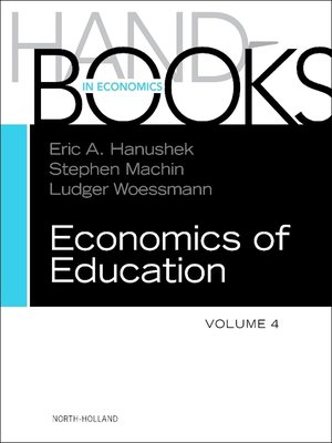 cover image of Handbook of the Economics of Education