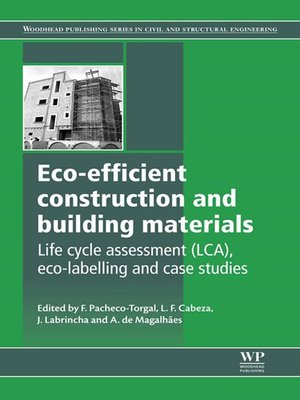cover image of Eco-efficient Construction and Building Materials