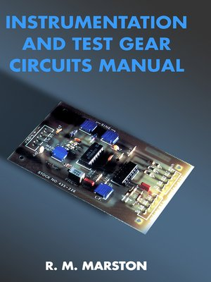 r m marston · overdrive (rakuten overdrive) ebooks, audiobookscover image of instrumentation and test gear circuits manual