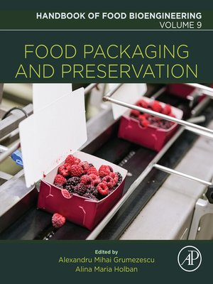 cover image of Handbook of Food Bioengineering, Volume 9