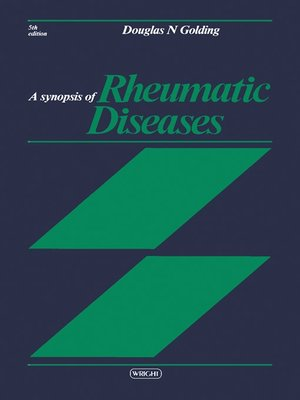 cover image of A Synopsis of Rheumatic Diseases