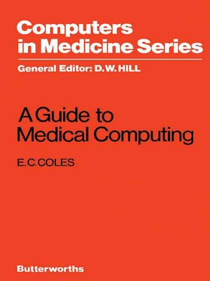 cover image of A Guide to Medical Computing