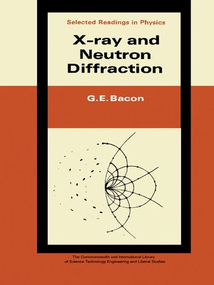 cover image of X-Ray and Neutron Diffraction